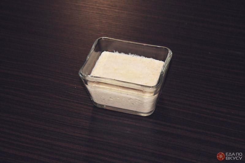 Сливочно чесночный соус - результат